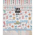 FabScraps - Summer Loving Collection - 12 x 12 Paper Pad