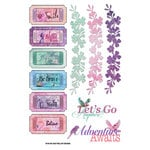 FabScraps - Wild Beauty Collection - Stickers - Sentiments
