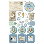 FabScraps - Vintage Baby Collection - Stickers - 2