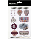 FabScraps - Adrenaline Collection - Stickers - Man on the Move