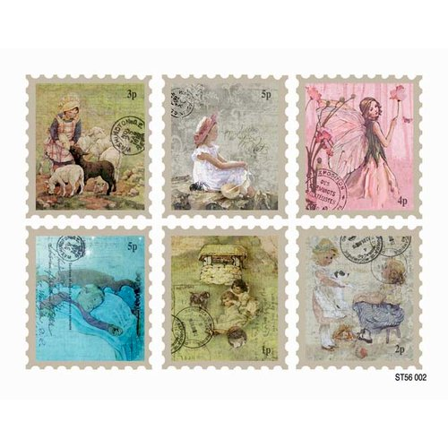 FabScraps - Little Peeps Collection - Stickers - Stamps
