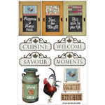 FabScraps - Country Kitchen Collection - Stickers - Signage