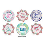 FabScraps - Kaleidoscope Collection - Stickers - Words