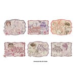 FabScraps - My Fair Lady Collection - Stickers - Sayings