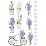 FabScraps - Lavender Breeze Collection - Stickers - Lavender Lifestyle