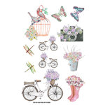 FabScraps - Charms of Spring Collection - Stickers - Nature Love