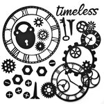 49 and Market - 6 x 6 Archival Chipboard - Timeless - Black