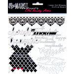 49 and Market - 6 x 6 Archival Chipboard - Treasure