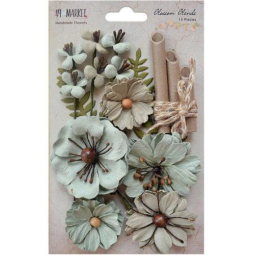 49 and Market - Handmade Flowers - Blossom Blends - Aloe