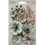 49 and Market - Handmade Flowers - Blossom Blends - Aloe