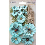 49 and Market - Handmade Flowers - Blossom Blends - Sea Breeze