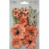 49 and Market - Handmade Flowers - Blossom Blends - Cantaloupe