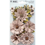 49 and Market - Flower Embellishments - Botanical Blends - Hazelnut