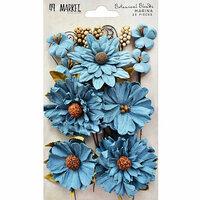 49 and Market - Flower Embellishments - Botanical Blends - Marina