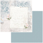 49 and Market - Bold and Beautiful Collection - 12 x 12 Double Sided Paper - Dear John