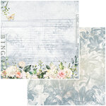 49 and Market - Bold and Beautiful Collection - 12 x 12 Double Sided Paper - Whispers