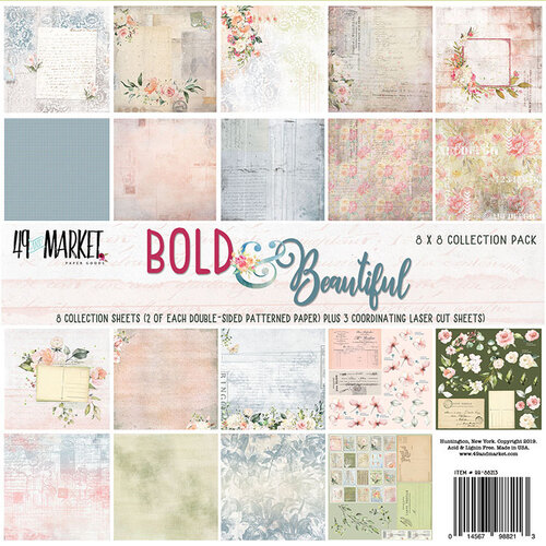 49 and Market - Bold and Beautiful Collection - 8 x 8 Collection Pack