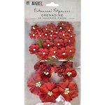 49 and Market - Flower Embellishments - Botanical Potpourri - Grenadine