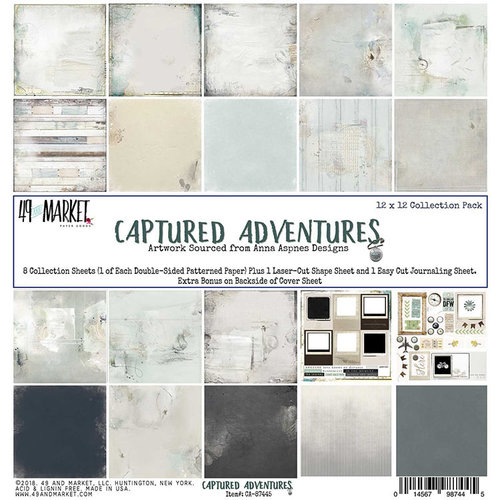 49 and Market - Captured Adventures Collection - 12 x 12 Collection Pack