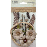 49 and Market - Handmade Flowers - Cottage Blooms - Linen