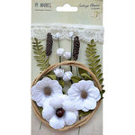 49 and Market - Handmade Flowers - Cottage Blooms - Cotton
