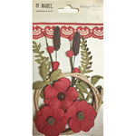 49 and Market - Handmade Flowers - Cottage Blooms - Poppy