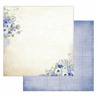 49 and Market - Cottage Life Collection - 12 x 12 Double Sided Paper - Provence