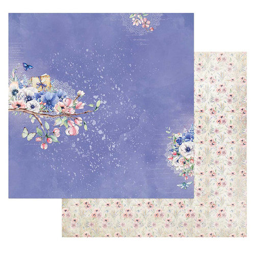 49 and Market - Cottage Life Collection - 12 x 12 Double Sided Paper - Branching Out