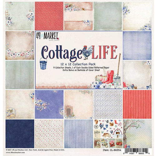49 and Market - Cottage Life Collection - 12 x 12 Collection Pack