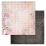 49 and Market - Ethereal Collection - 12 x 12 Double Sided Paper - Flora