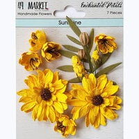 49 and Market - Flower Embellishments - Enchanted Petals - Sunshine