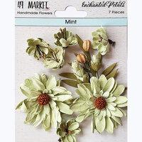 49 and Market - Flower Embellishments - Enchanted Petals - Mint