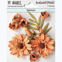 49 and Market - Flower Embellishments - Enchanted Petals - Salmon
