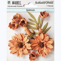 49 and Market - Flower Embellishments - Enchanted Petals - Salmon