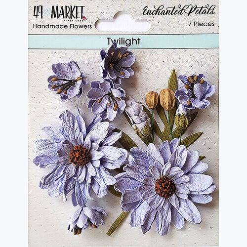 49 and Market - Flower Embellishments - Enchanted Petals - Twilight