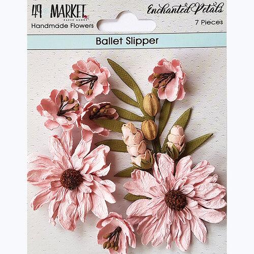 49 and Market - Flower Embellishments - Enchanted Petals - Ballet Slipper