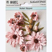 49 and Market - Flower Embellishments - Enchanted Petals - Ballet Slipper
