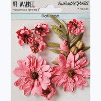 49 and Market - Flower Embellishments - Enchanted Petals - Flamingo