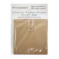 49 and Market - Foundations - Waterfall Enclosure - 4 x 6 - Kraft