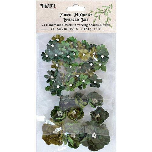49 and Market - Flower Embellishments - Floral Mixology - Emerald Isle
