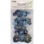 49 and Market - Flower Embellishments - Floral Mixology - Ocean Breeze