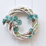 49 and Market - Handmade Flowers - Garden Bloom - Dusty Shale