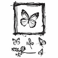 49 and Market - Clear Photopolymer Stamps - Gerry's Butterflies