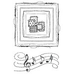 49 and Market - Clear Acrylic Stamps - Gabi's Square Stitch