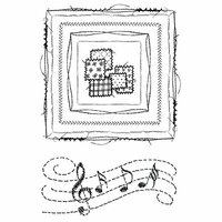 49 and Market - Clear Photopolymer Stamps - Gabi's Square Stitch
