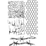 49 and Market - Clear Photopolymer Stamps - Gabi's Crackle Texture
