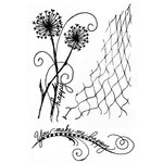 49 and Market - Clear Acrylic Stamps - Gabi's Dandelions