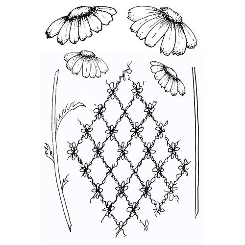 49 and Market - Clear Acrylic Stamps - Gabi's Daisies
