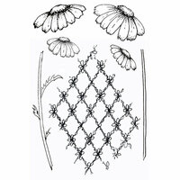 49 and Market - Clear Photopolymer Stamps - Gabi's Daisies