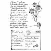 49 and Market - Clear Photopolymer Stamps - Gabi's Postcard from Paris
